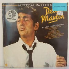 "Dean Martin ‎– Memories Are Made Of This (Vinyl, 12"", LP, Compilation)"