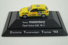 Rietze Modellauto 1:87 H0 Opel Astra GSI 16 V Team Meisenberg