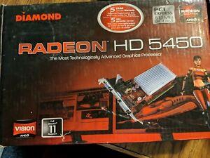 Diamond w/ AMD Stream Technology Radeon HD 5450 (1GB) Graphics Card