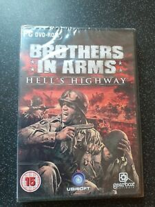 Brothers in Arms Hell's Highway for PC (Windows XP SP3 Vista SP1 DVD-ROM) SEALED