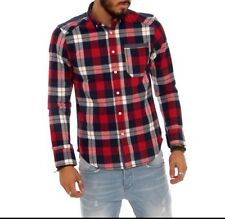 Mens Designer Check Shirt By Mish Mash Size Small £29.99 Or Best