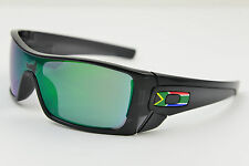 South Africa OAKLEY BATWOLF OO9101-20 BLACK INK/JADE IRIDIUM SUNGLASSES Flag