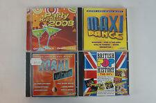 4 Maxi Party Dance CD`s - Alben zum feiern bis der Arzt kommt! (Bluebox)