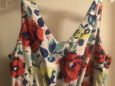 Old Navy Floral Cotton Lined Sundress  - size 2