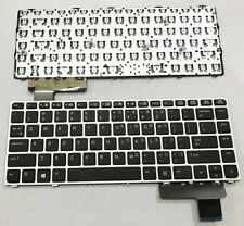 for HP EliteBook Folio 9470M 9470 9480 9480M US Laptop Keyboard with frame