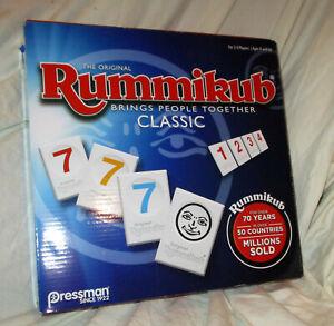 Pressman Rummikub Classic Game NEW