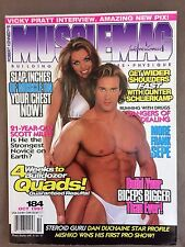 Musclemag bodybuilding and fitness magazine - October 1997 - Vicky Pratt