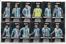 2018 Panini Prizm FIFA World Cup Base Team Set ARGENTINA (12 Cards)
