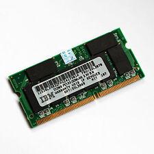 512 mo de mémoire pc133 144-pin IBM A30 R30 R31 T23 X22 X23