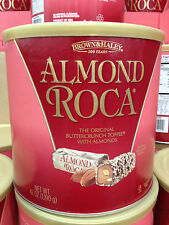 Brown & Haley Almond Roca Buttercrunch Toffee With Almonds 42 oz-Free USA Ship