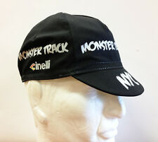Cinelli Monster Track Cycling Cap - Black