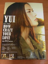 YUI - How Crazy Your Love [OFFICIAL] POSTER *NEW*