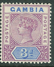 Gambia 1898 purple/blue 3d mint SG41