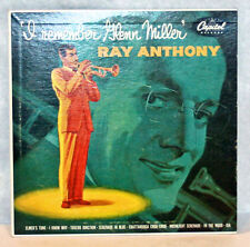 """Ray Anthony, I Remember Glenn Miller. Capital Records 10"""" LP"""