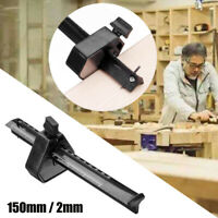 """US 6"""" Carpentry Woodworking Mortise Marking Gauge 0-150mm with Adjustable Screw"""