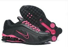 HOT NEW Women's Black/Pink NIKE Shox Athletic Running Shoes