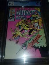 New Mutants Annual 2  CGC 8.0 (cbcs pgx) 1986 1st appearance of Psylocke
