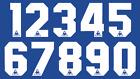 Le Coq Sportif Vinyl Aston Villa Everton Football Shirt Soccer Numbers Jersey
