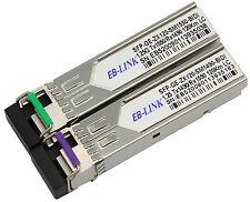 For Cisco GLC-BX-U120 + GLC-BX-D120 1490/1550 120KM WDM BIDI SFP Transceiver