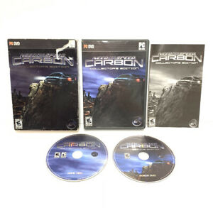 Need for Speed Carbon - PC Collector's Edition - Complete w/ Manual & Slip Cover
