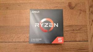 AMD Ryzen 5 1500X CPU (4 cores / 8 threads) 3.5/3.7 GHz with Wraith Stealth