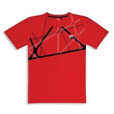 DUCATI Gráfico Net Camiseta Rojo