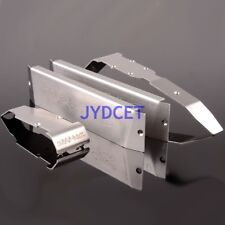 Stainless Steel Chassis Armor Front Rear Skid Plate RC 1/10 TRAXXAS REVO SUMMIT