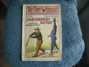 1900 TIP TOP WEEKLY AN IDEAL PUBLICATION FOR THE AMERICAN YOUTH GROBEE1957