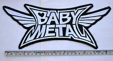 Babymetal Patch Embroidered Large Size sew on Aufnäher パッチbackpatch BABY METAL