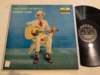 Ernest Tubb The Daddy Of 'Em All LP Decca Black Label DG Mono 1st Press VG+!!!!