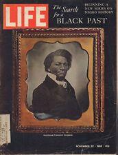 LIFE November 22,1968 Frederick Douglass / Slavery / Yale University / Cambodia