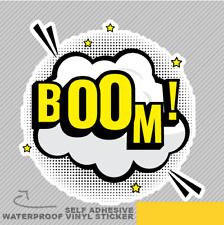 Boom Comic Burbuja explosión De Vinilo Pegatina Calcomanía ventana de coche furgoneta bicicleta 2072