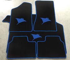 Autoteppich Kofferraummatte Set für Opel Manta B Rochen blau Neuware 5teilig