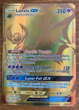 Lunala GX - 172/156 - Gold Secret NM Sun & Moon Ultra Prism R0V - Free Shipping