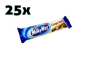 25x packs Milky Way Crispy Rolls - 50 rolls | 600g | 1.24lbs ✈ TRACKED SHIPPING