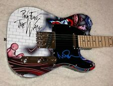 PINK FLOYD THE WALL SIGNED NICK MASON CUSTOM 1 OF 1 TELE ELECTRIC GUITAR W/PROOF