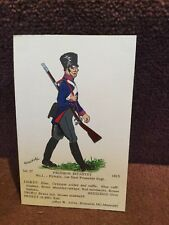 Card Rene North 37 Prussian Infantry No 1