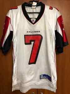 ATLANTA FALCONS NFL Shirt Jersey #7 VICK Reebok Size S