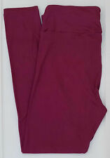 LuLaRoe - Leggings - Solid color Berry Wine - Size T/C - NEW with tags