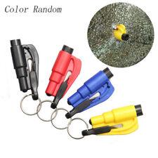 Emergency Safety Hammer Car Window Glass Breaker Whistle Seat Belt Cutter