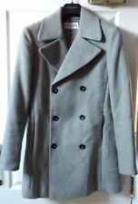 Reiss MEN'S Cappotto Chiaro Grigio Melange-A/W 2014-Regno Unito extra-small, appena indossato