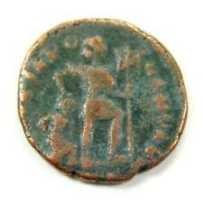 Ancient Roman Coin - Roman Soldier Dragging Captive c. 100 - 375 A.D. st4157