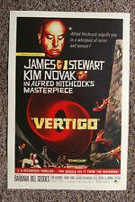 New listing Vertigo #2 Lobby Card Movie Poster Alfred Hitchcock
