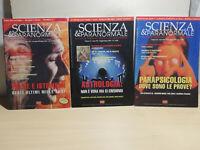 3 Fascicoli SCIENZE E PARANORMALE RIVISTE DEL 2000 CICAP  N.30 -  N.31 - N.34