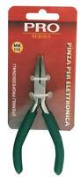 mini pinza per elettricista becchi piatti in acciaio manico antiscivolo mm 115