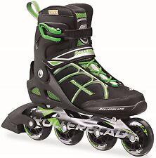 Rollerblade 2016 Macroblade 80 Black/Green Mens Inline Skates UK 10