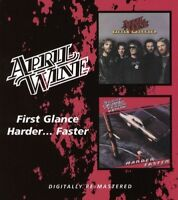 APRIL WINE - FIRST GLANCE/HARDER...FASTER  CD NEW
