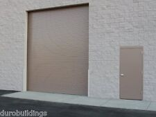 durosteel janus 18w x 16h commercial 2500 series heavy duty rollup door - 16 Ft Garage Door