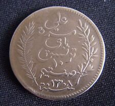Pièce cuivre 10 Cts TUNISIE 1891 ( A ) .
