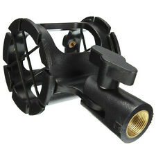 Universal Shotgun Microphone Mic Suspension Shock Mount Pencil Clamp Holder New